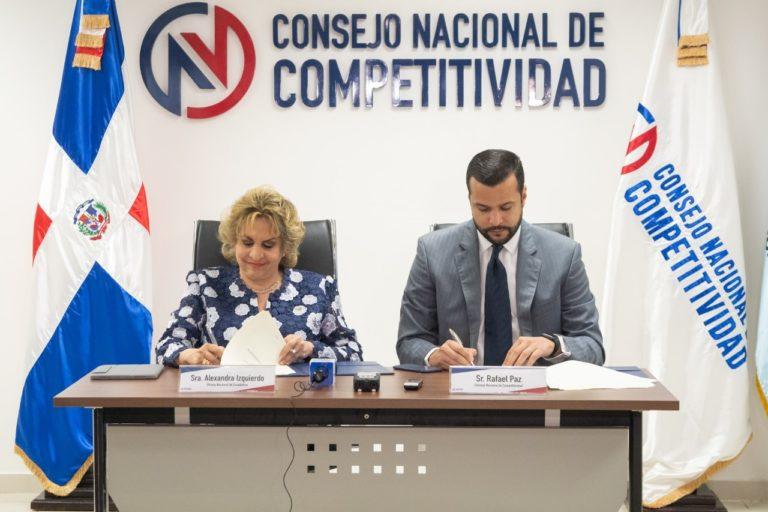 Competitividad y la ONE firman acuerdo para elaborar diagnostico sobre innovación