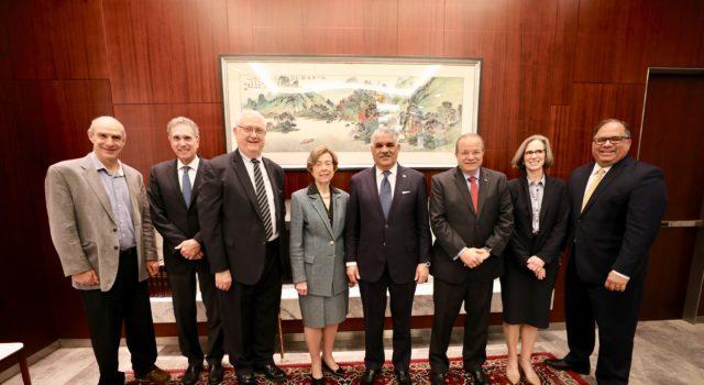 Washington: Ministro de Relaciones Exteriores Miguel Vargas resalta estabilidad política y democrática RD